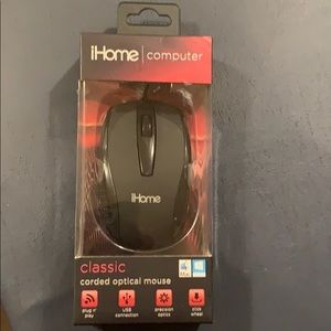 iHome Corded Computer/Laptop Mouse